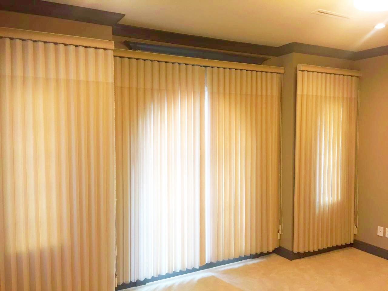 Recent Blinds Work done by Great Blinds, Canada
